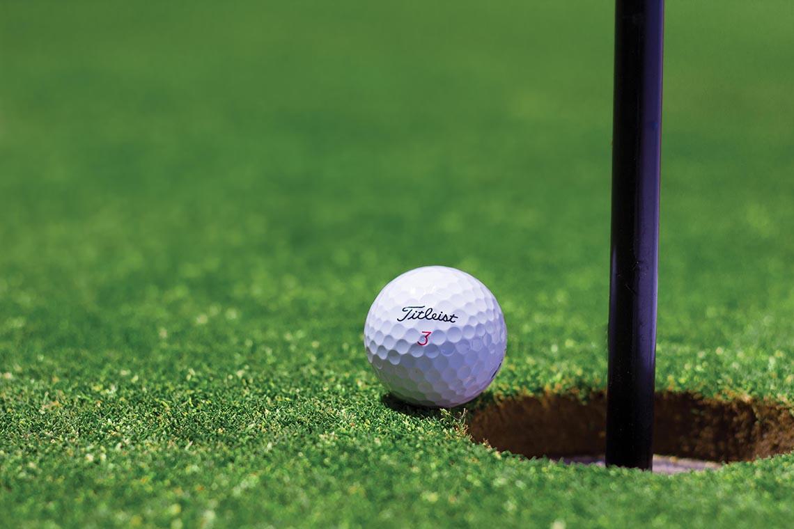 Die Basis für Golfplätze